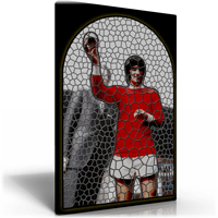 George Best Stained Glass